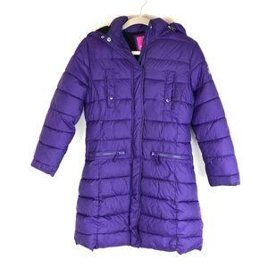 Weatherproof Kids Puffer Hooded Parka